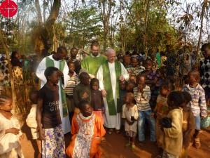 Central African Republic, Bangui: Holy Mass at the refugee Camp