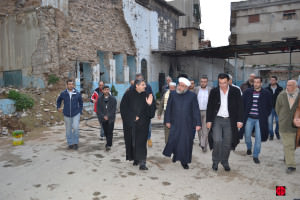 Old homs - Director of Awkaf visit the kitchenSYRIA / NATIONAL