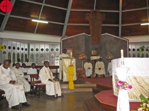 64 Missae Gregorianaefor 16 priest formators at St Mary's National Seminary Ggaba 2015