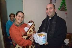 Supporting families of refugees and displaced is a priority for the Church in Syria.