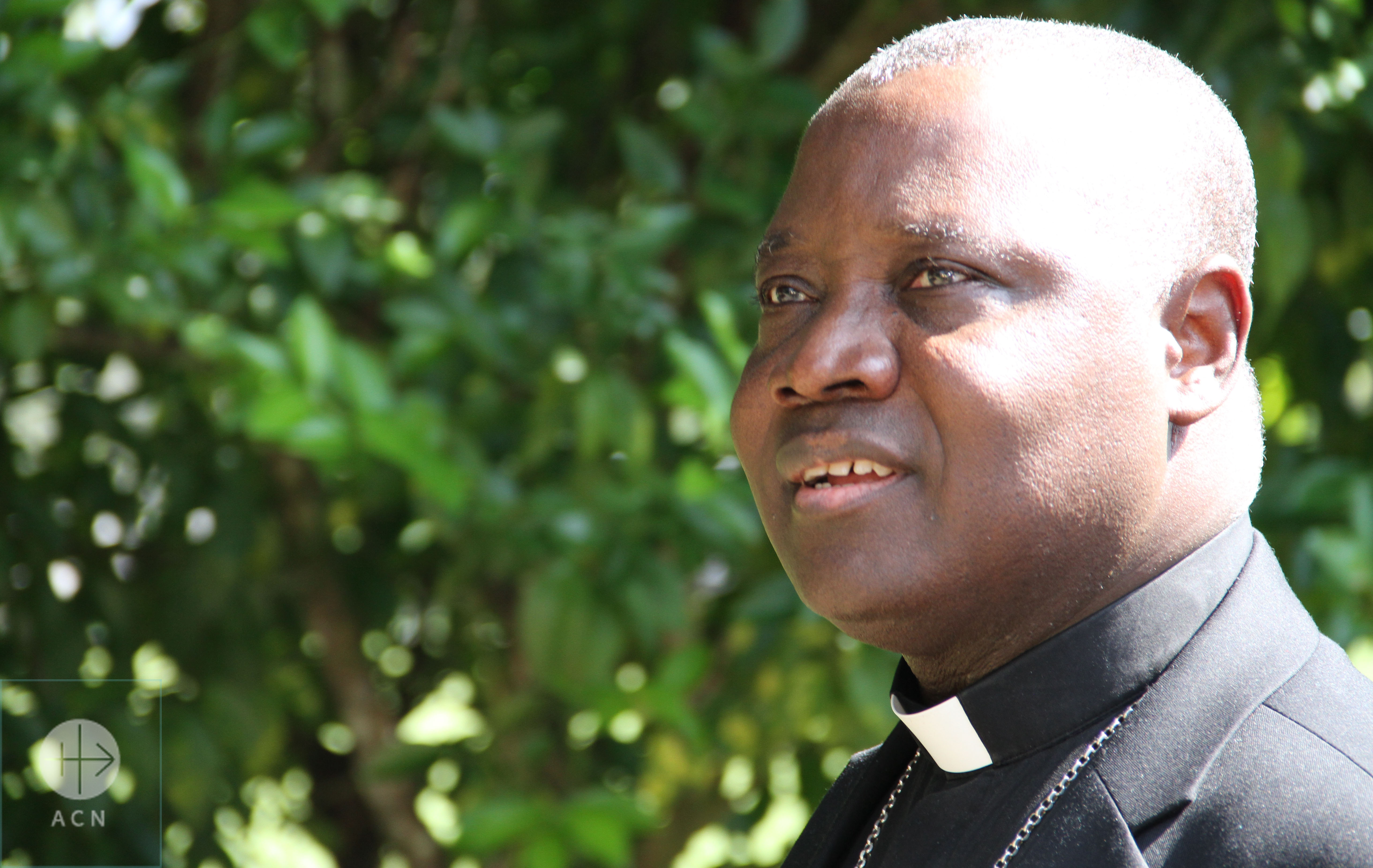 Mgr. Ignatius Kaigama - Archbishop from Jos - Nigeria and President of Conference Episcopal from Nigeria in Fazenda Esperança - Guaratinguetá - Sao Paulo - Brazil