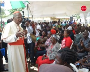 Cardinal John Njue, Archbishop of Nairobi at Chiromo Mortuary, A